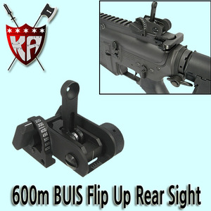 600m BUIS Flip Up Rear Sight