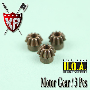Motor Gear (3 Pcs Bulk Pack)