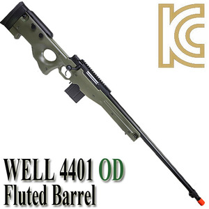 MB 4401 OD / Fluted Barrel