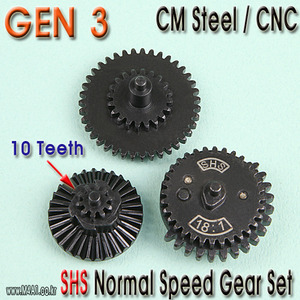 Gen3 Normal Speed Gear Set / 10 teeth