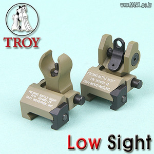 Troy Folding Battle Low Sight / TAN
