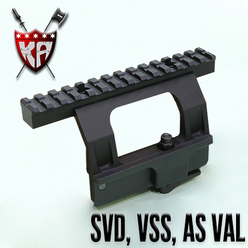 SVS Side Rail Mount / SVD, VSS, AS VAL
