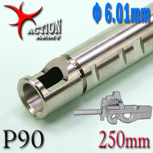 Stainless Φ6.01mm Inner Barrel / 250mm