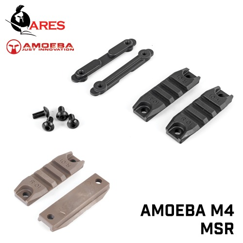 Amoeba 3 Slot Polymer Rail Section / M4,MSR