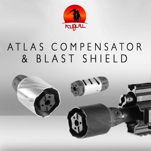 Atlas Compensator & Blast Shield