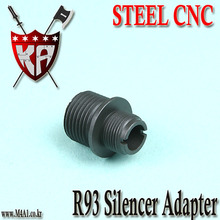 R93 Silencer Adapter / Steel CNC