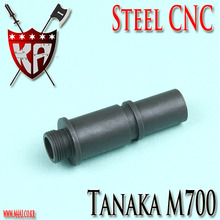 Tanaka M700 Silencer Adapter (14mm-) / Steel