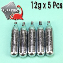 Puff Dino Co2 Cartridges 5 Pcs/ 12g