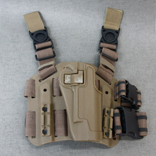 Black Hawk Leg Holster Set (Colt/TAN)